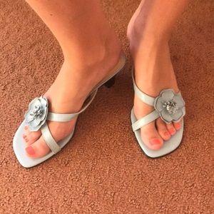 3e728179452 Etienne Aigner kitten sandals